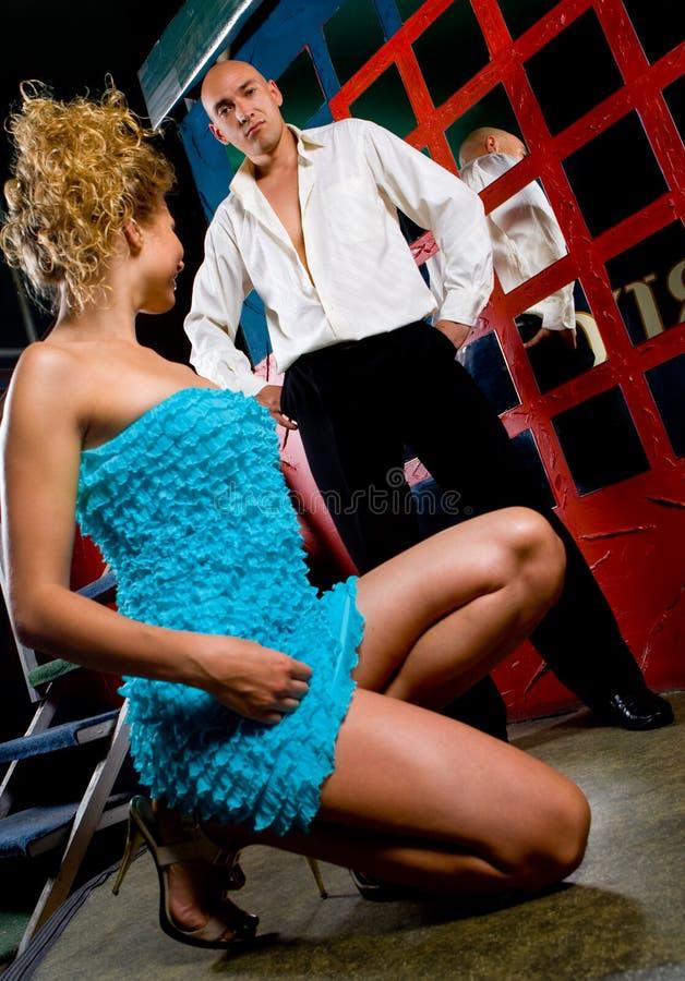 Dança 'sexy' fotos de stock royalty free