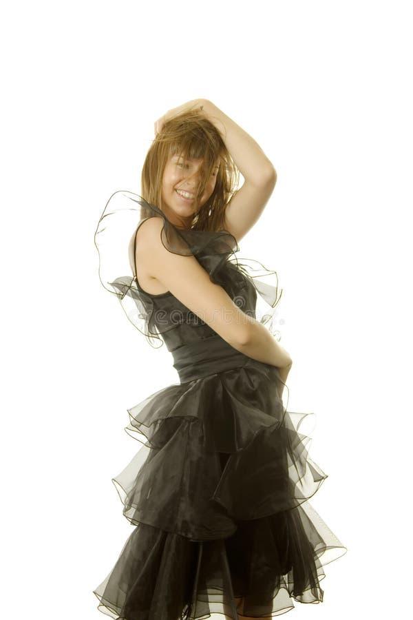 Dança 'sexy' da mulher foto de stock royalty free