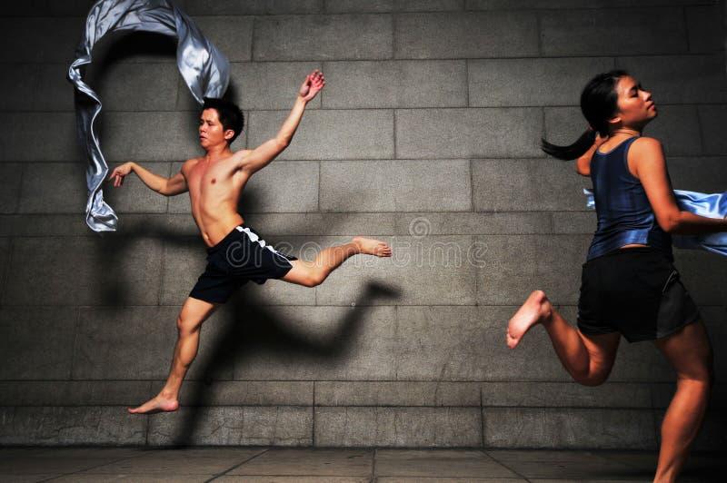 Dança subterrânea 104 fotografia de stock
