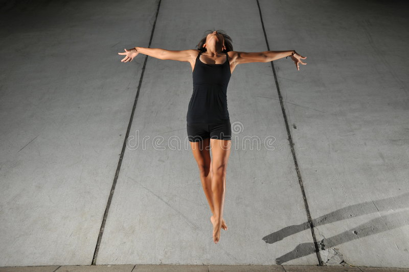 Dança subterrânea 22 imagem de stock