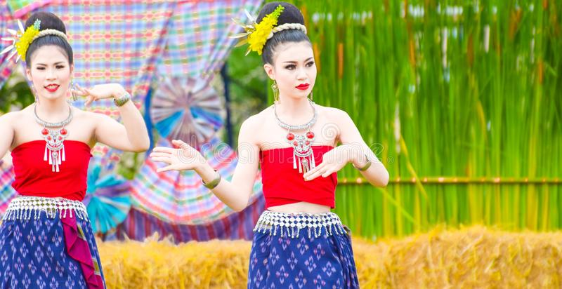 Dança Tailândia fotografia de stock royalty free
