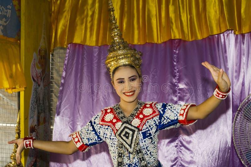 Dança tailandesa tradicional imagem de stock royalty free