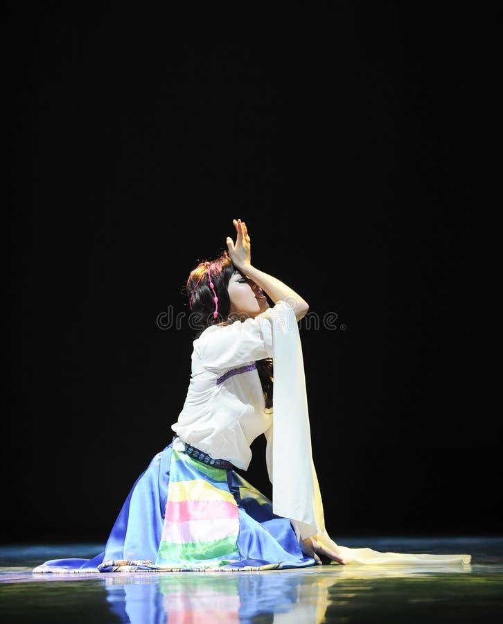 Dança tibetana: Ge Sanghua fotos de stock