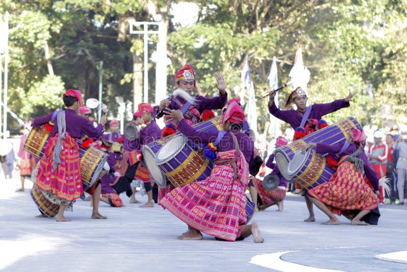 Dança tradicional imagens de stock