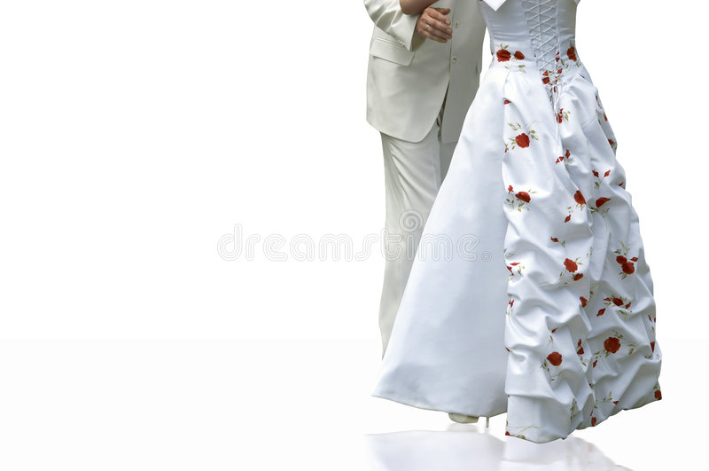 Dança Wedding foto de stock royalty free