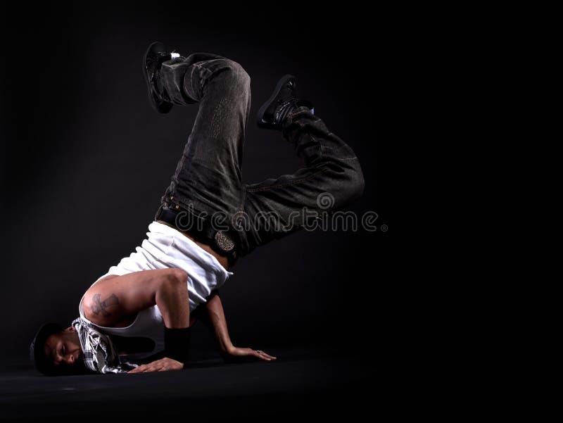 Dançarino à moda novo foto de stock royalty free