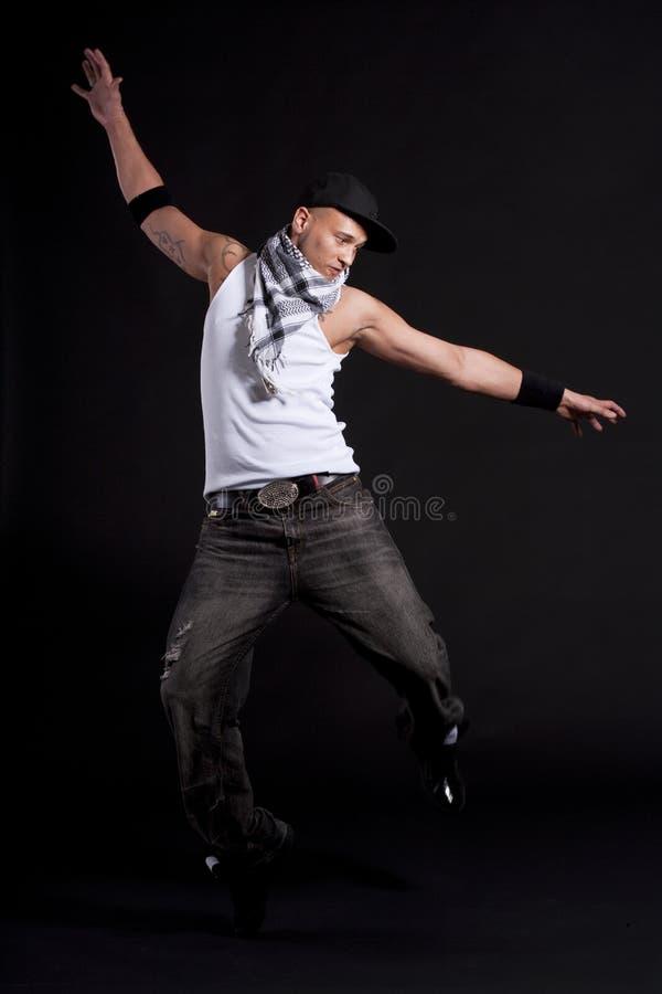 Dançarino à moda novo imagens de stock royalty free