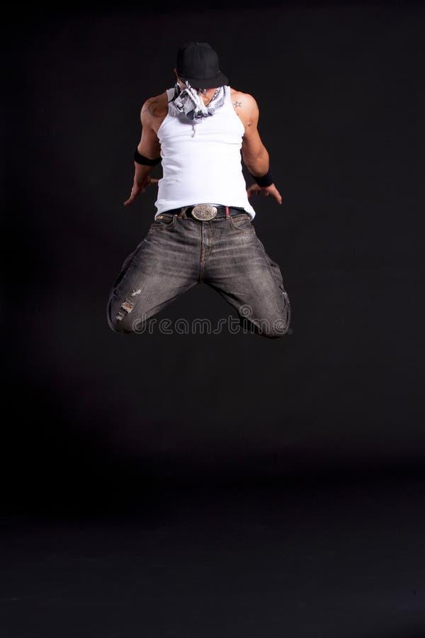 Dançarino à moda novo fotos de stock royalty free