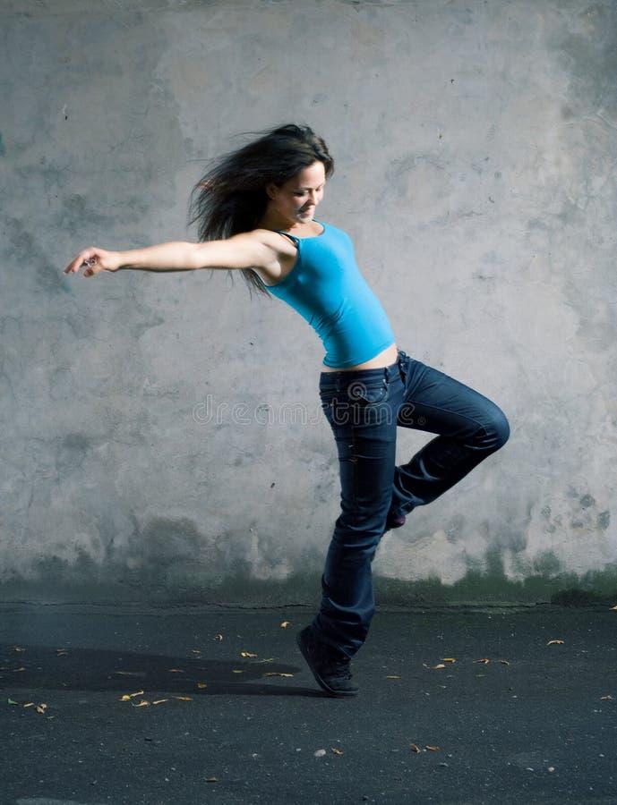 Dançarino. fotos de stock royalty free