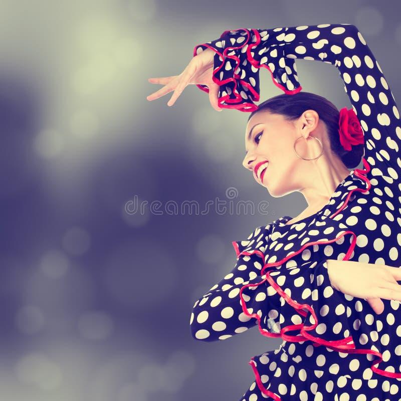 Dançarino aciganado fotografia de stock royalty free