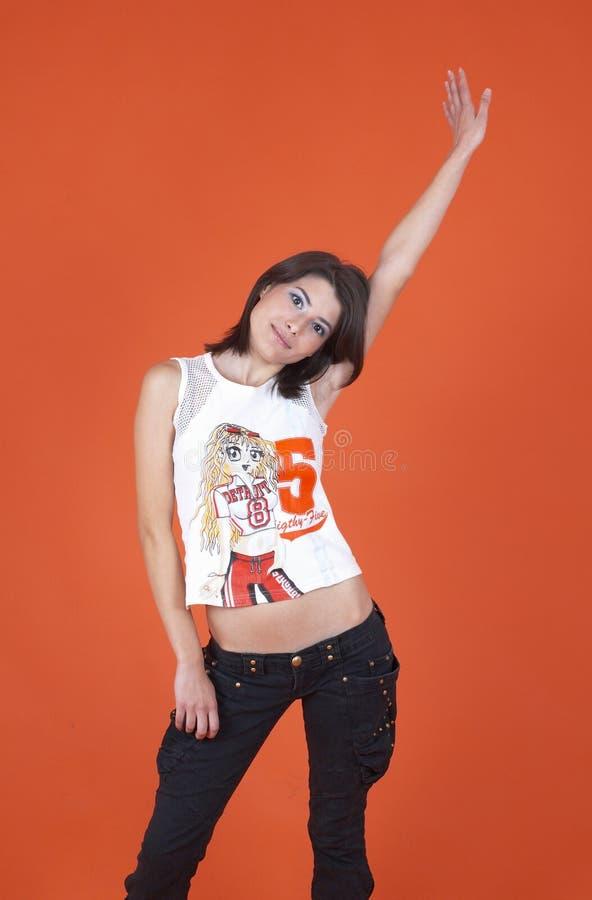Dançarino adolescente foto de stock