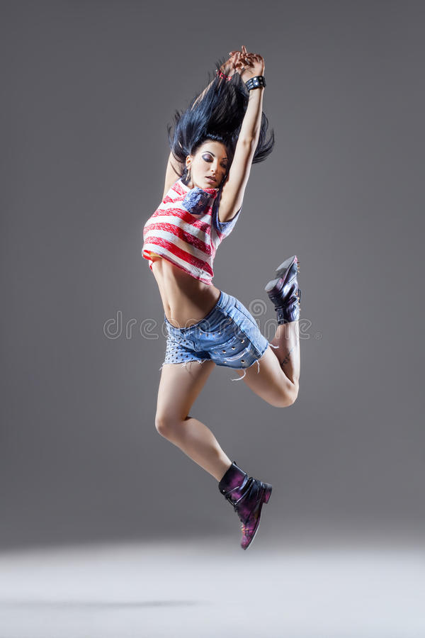 Download O dançarino foto de stock. Imagem de grace, bonito, se - 29835726