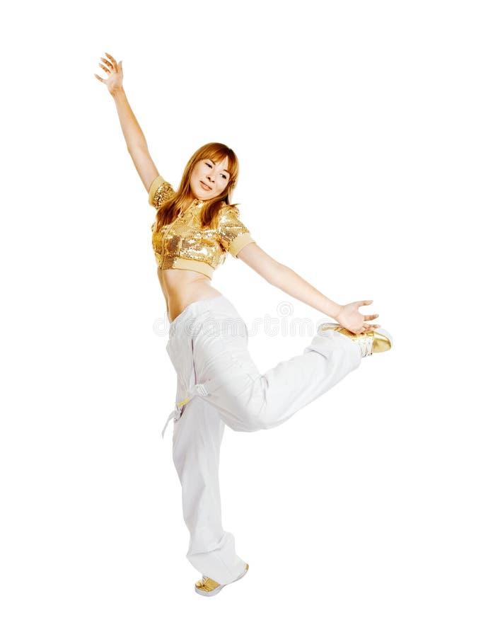 Dançarino bonito quente imagem de stock royalty free