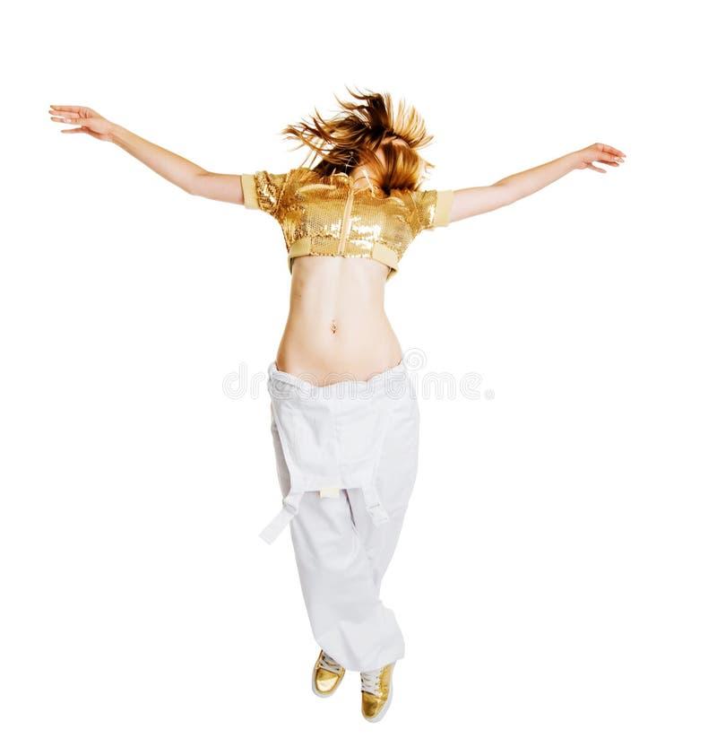 Dançarino bonito quente foto de stock royalty free