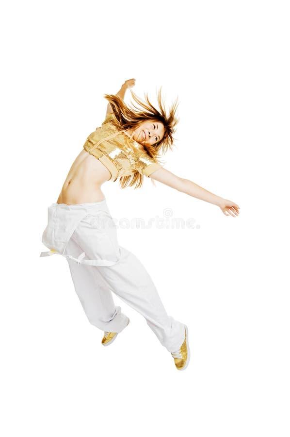 Dançarino bonito quente fotos de stock