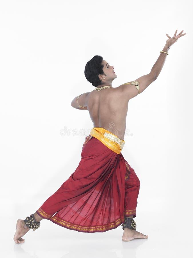 Dançarino clássico de india imagem de stock
