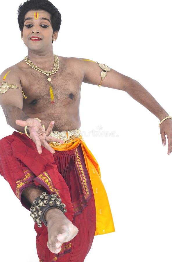 Dançarino clássico de india imagens de stock royalty free