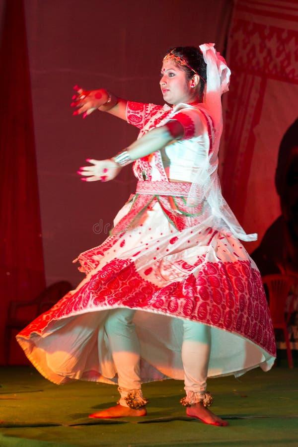 Dançarino clássico indiano fotos de stock