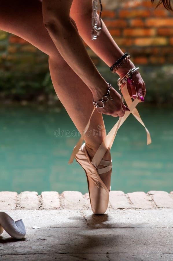 Dançarino clássico Venice imagem de stock
