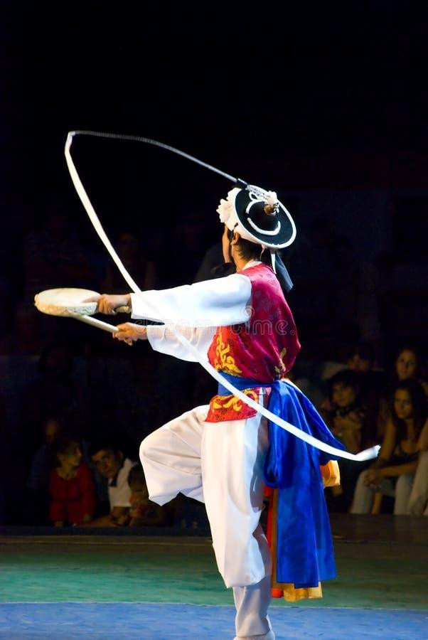 Dançarino coreano sul imagens de stock