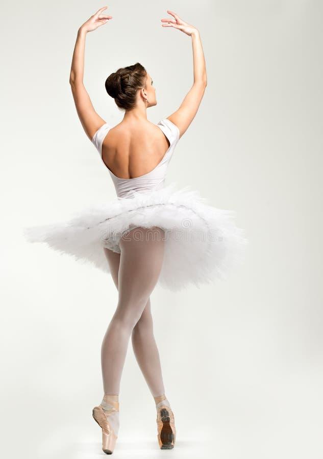 Dançarino da bailarina no tutu imagem de stock royalty free