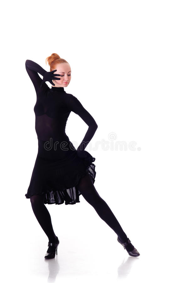 Dançarino da beleza fotografia de stock royalty free