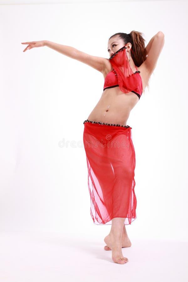 Dançarino da mulher fotografia de stock royalty free