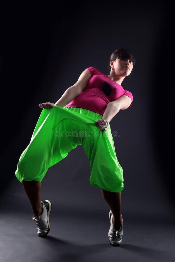 Download Dançarino Da Mulher De Encontro Imagem de Stock - Imagem de sentimento, dança: 12811329