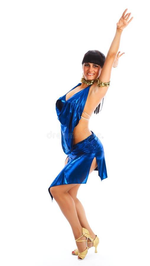 Dançarino da samba imagens de stock royalty free