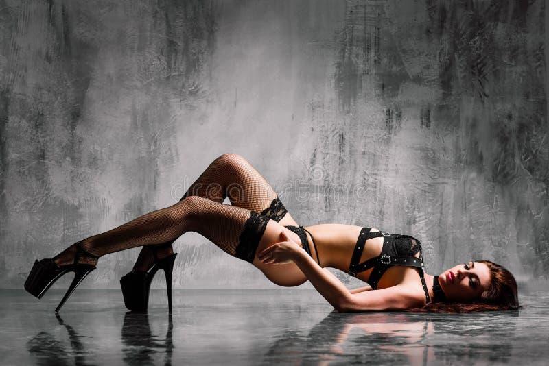 Dançarino da tira imagem de stock royalty free
