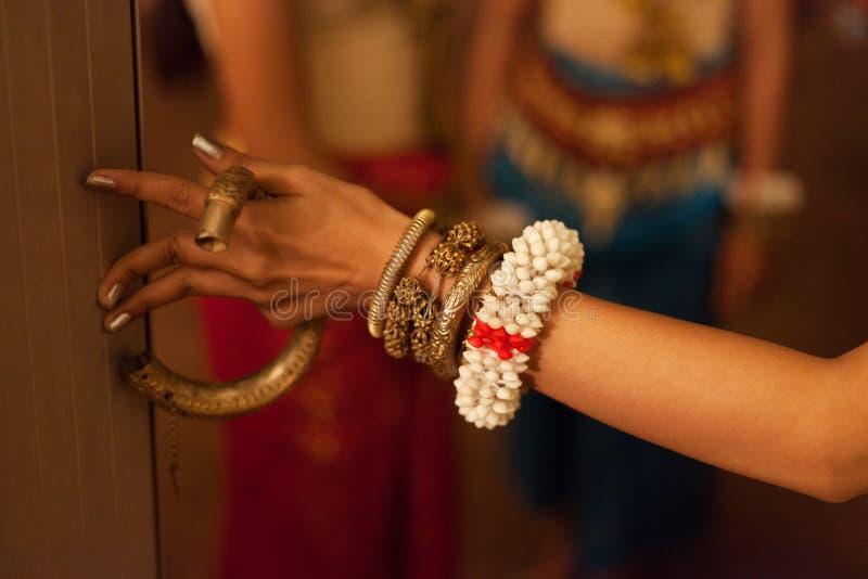 Dançarino de Apsara foto de stock
