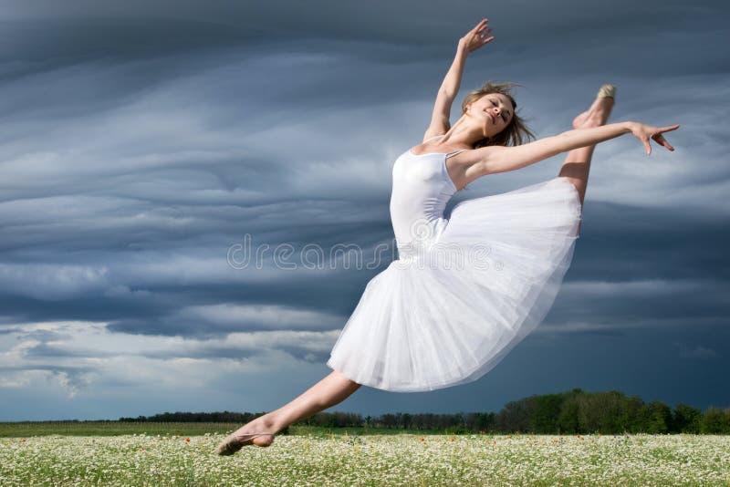 Dançarino de bailado imagens de stock