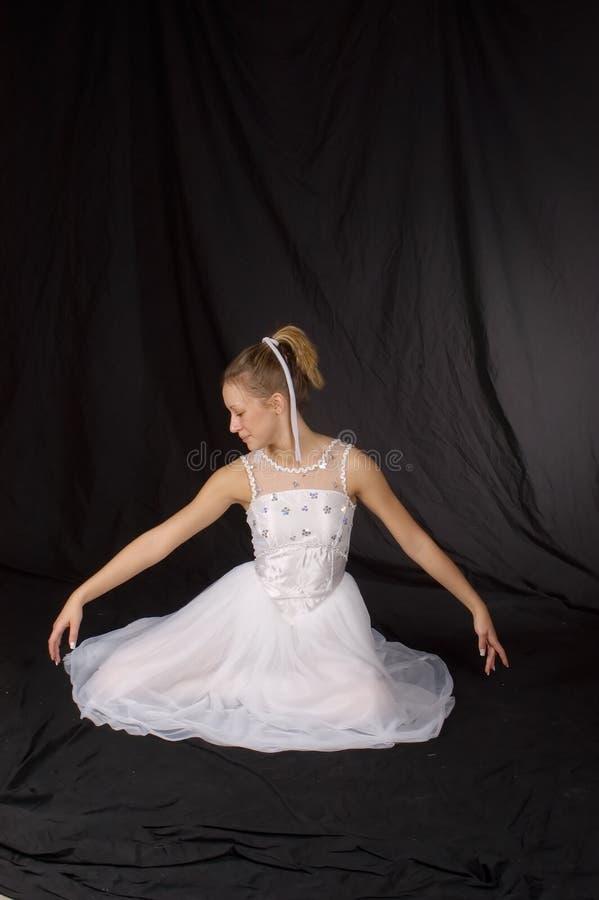 Dançarino de bailado   fotografia de stock royalty free