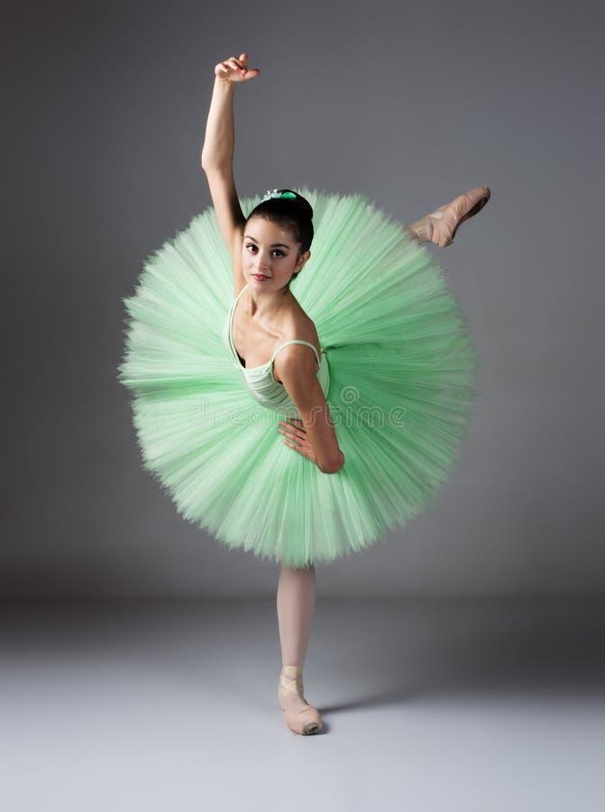 Dançarino de bailado fêmea imagem de stock