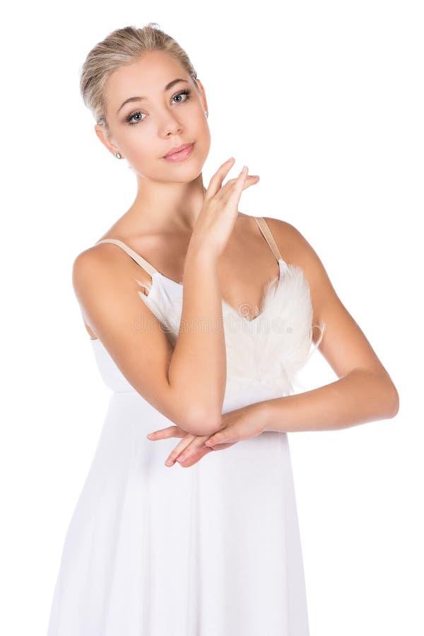 Dançarino de bailado fêmea foto de stock royalty free
