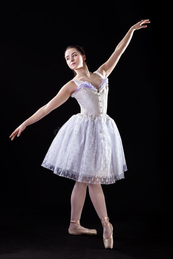 Dançarino de bailado gracioso imagens de stock royalty free