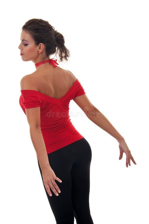 Download Dançarino De Bailado Moderno Foto de Stock - Imagem de desempenho, fêmea: 16865728