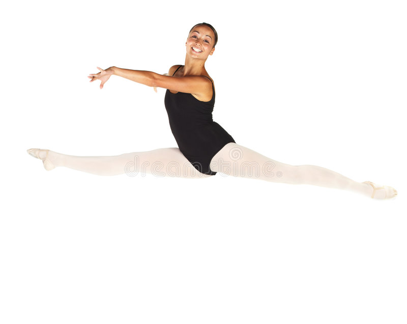 Dançarino de bailado novo imagens de stock