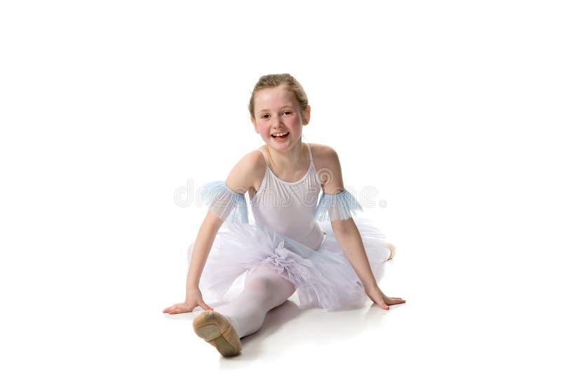 Dançarino de bailado que desgasta um tutu fotografia de stock