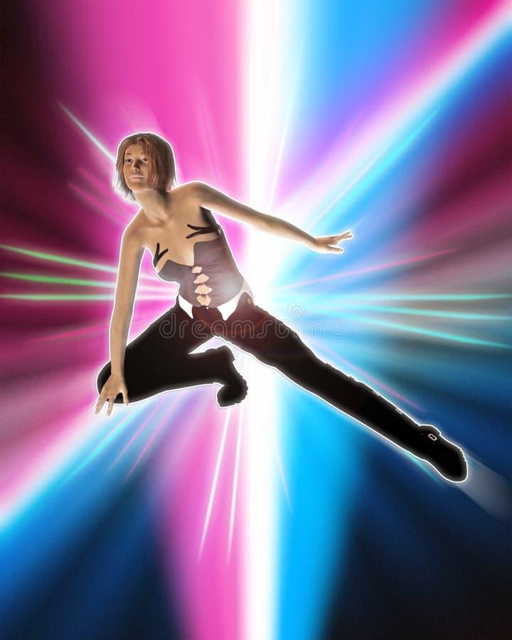 Dançarino de Hip Hop ilustração stock