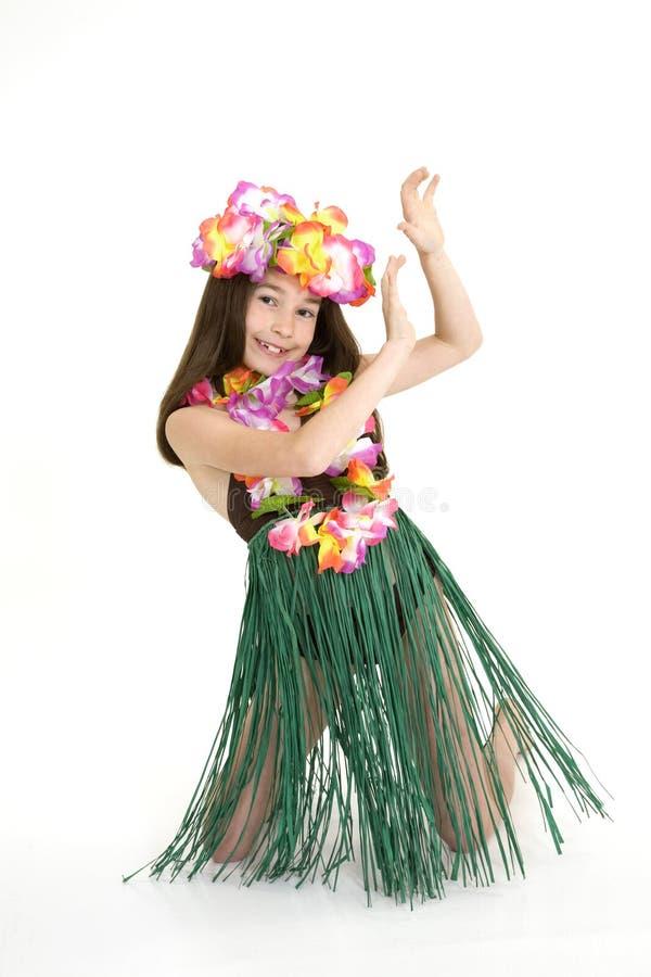 Dançarino de Hula fotos de stock royalty free