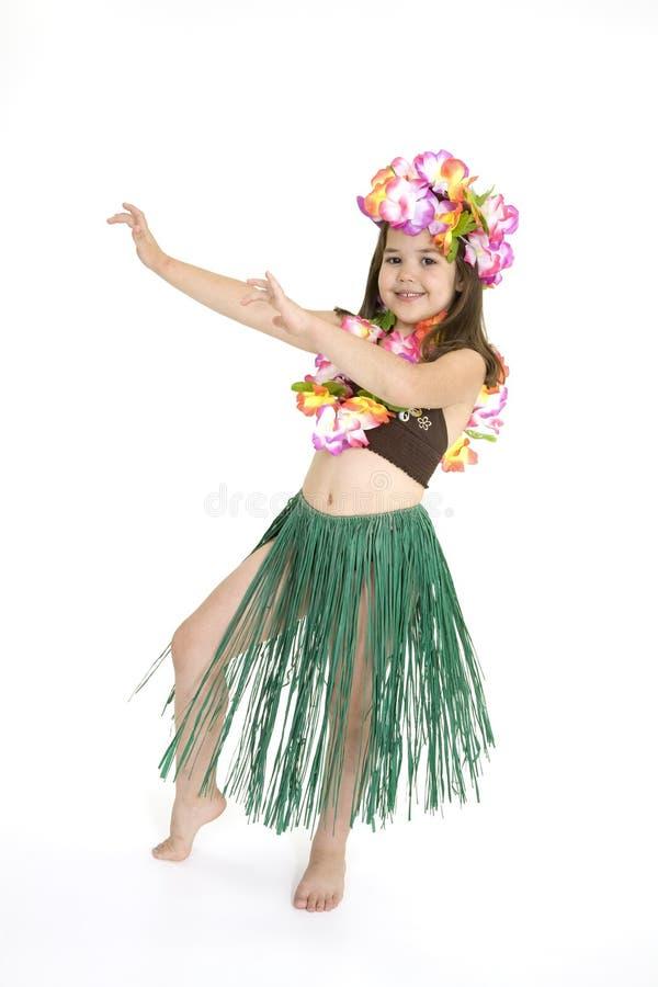 Dançarino de Hula fotografia de stock