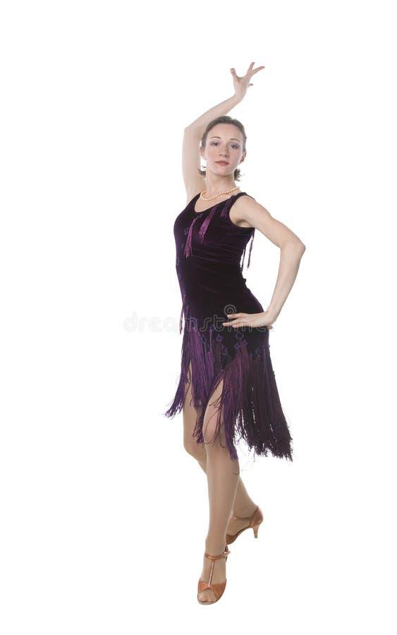 Dançarino de Latina foto de stock