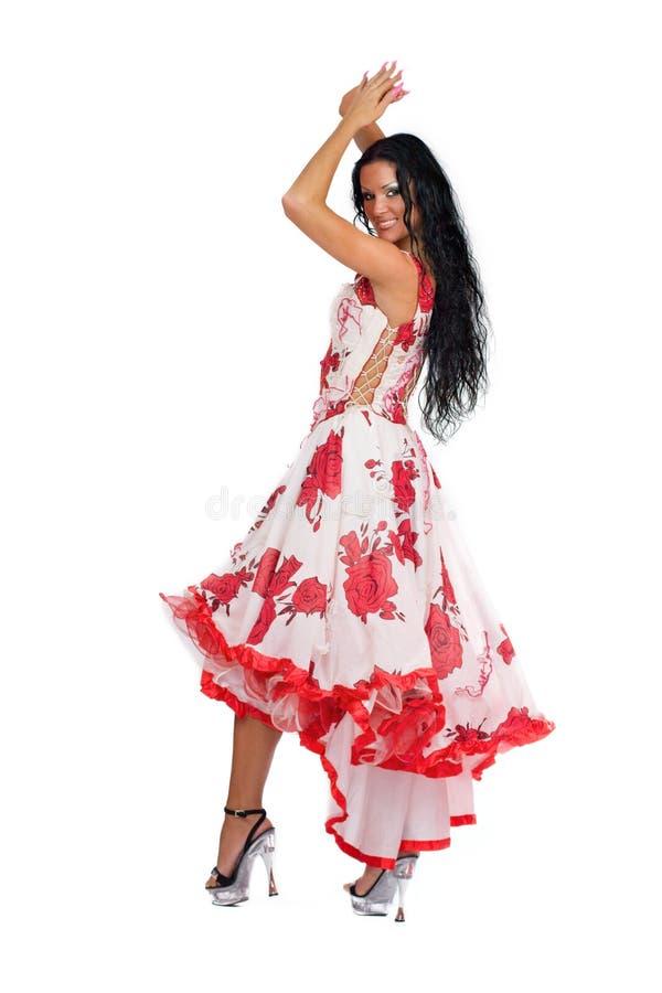 Dançarino de Latina foto de stock royalty free