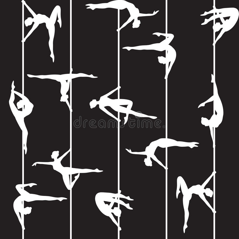 Dançarino de Polo ilustração do vetor