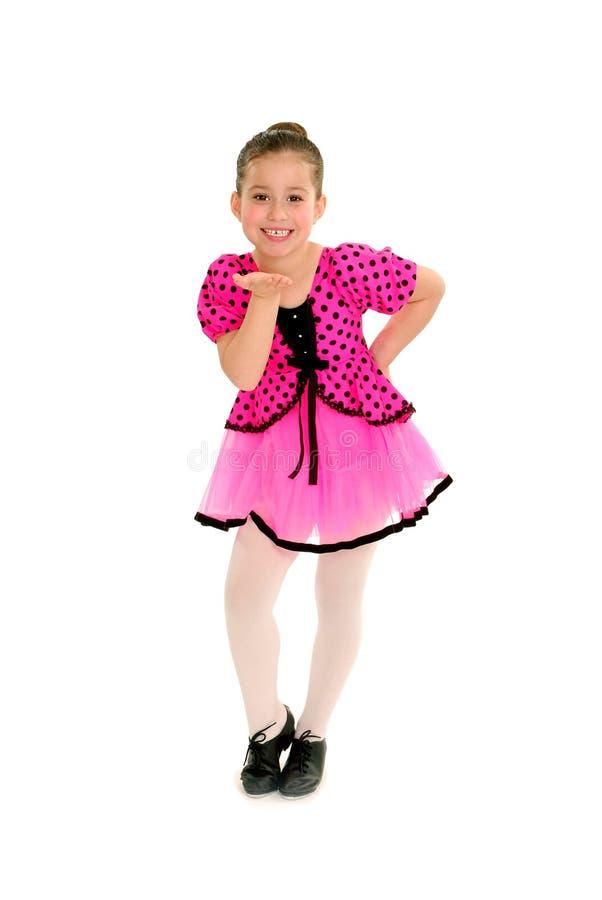 Dançarino de torneira Sassy da criança fotografia de stock royalty free