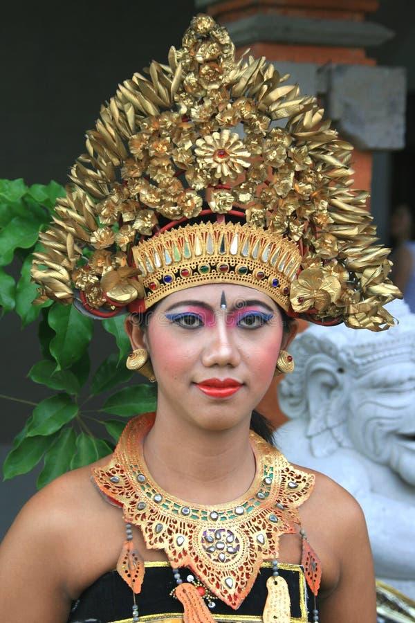 Dançarino do Balinese fotografia de stock royalty free