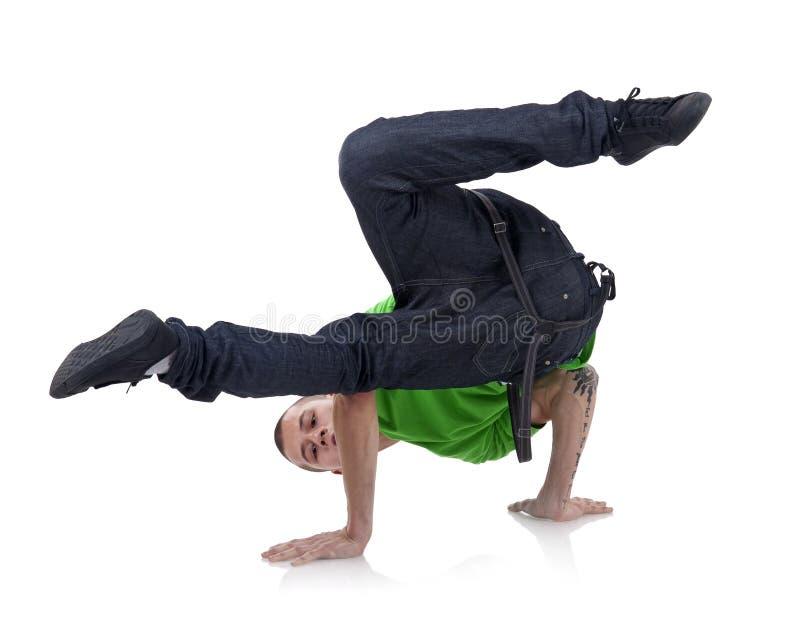 Dançarino do estilo de Hip-hop imagem de stock