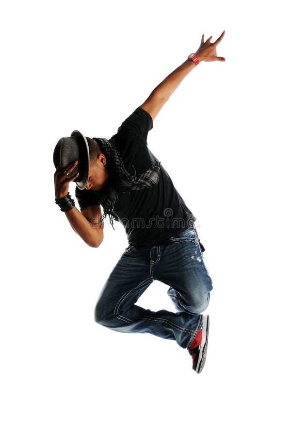 Dançarino do estilo de Hip Hop imagens de stock
