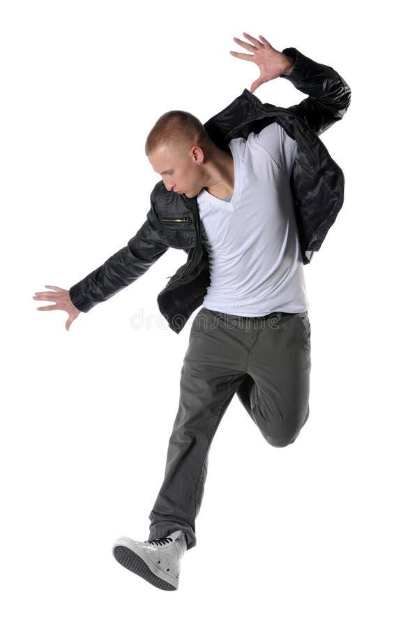 Dançarino do estilo de Hip Hop foto de stock